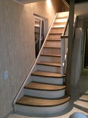 Деревянная Лестница на заказ для дома